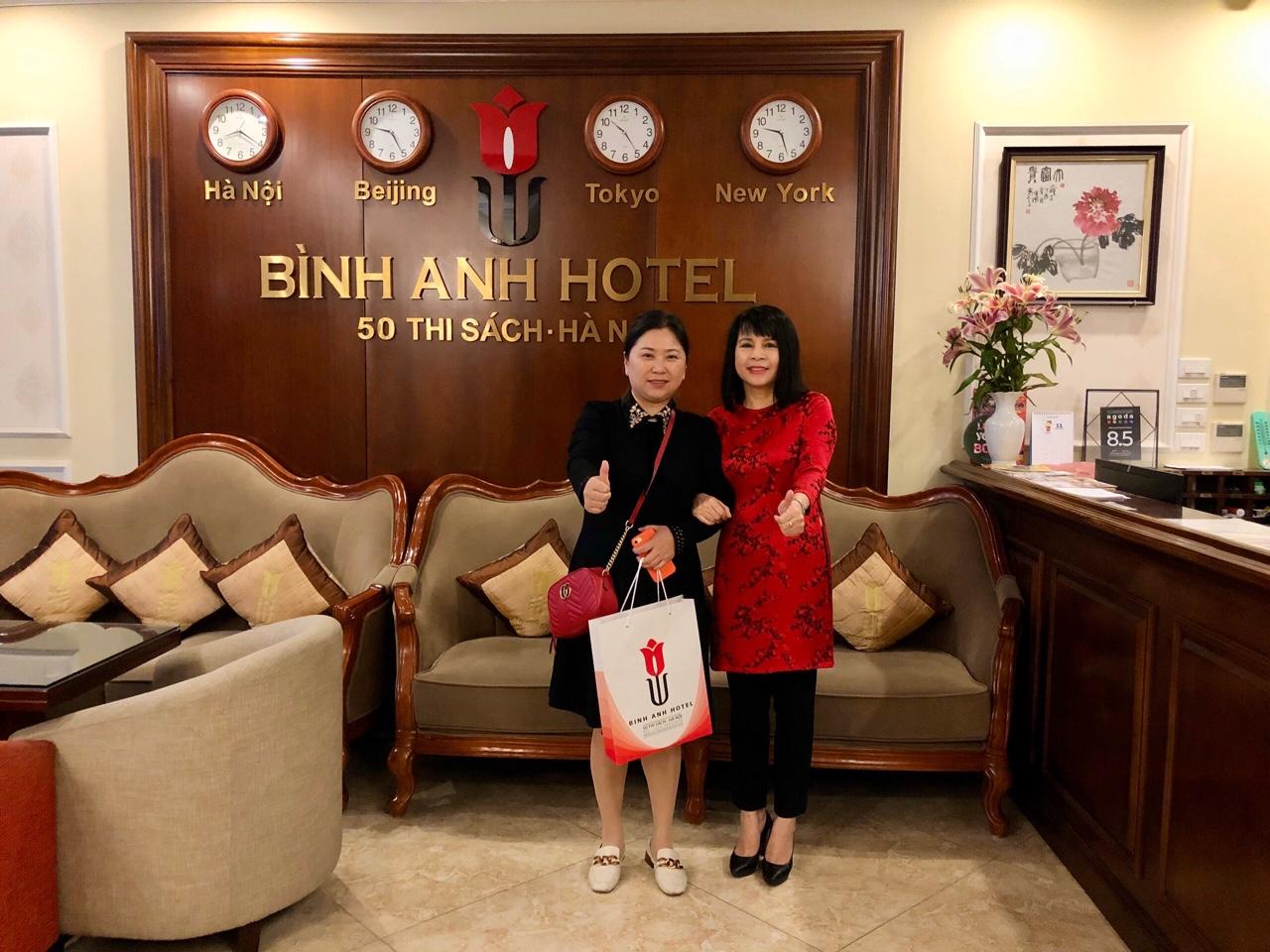 <p>DDều đặn mỗi tháng đều ra HNđều chọn Bình Anh Hotel</p>