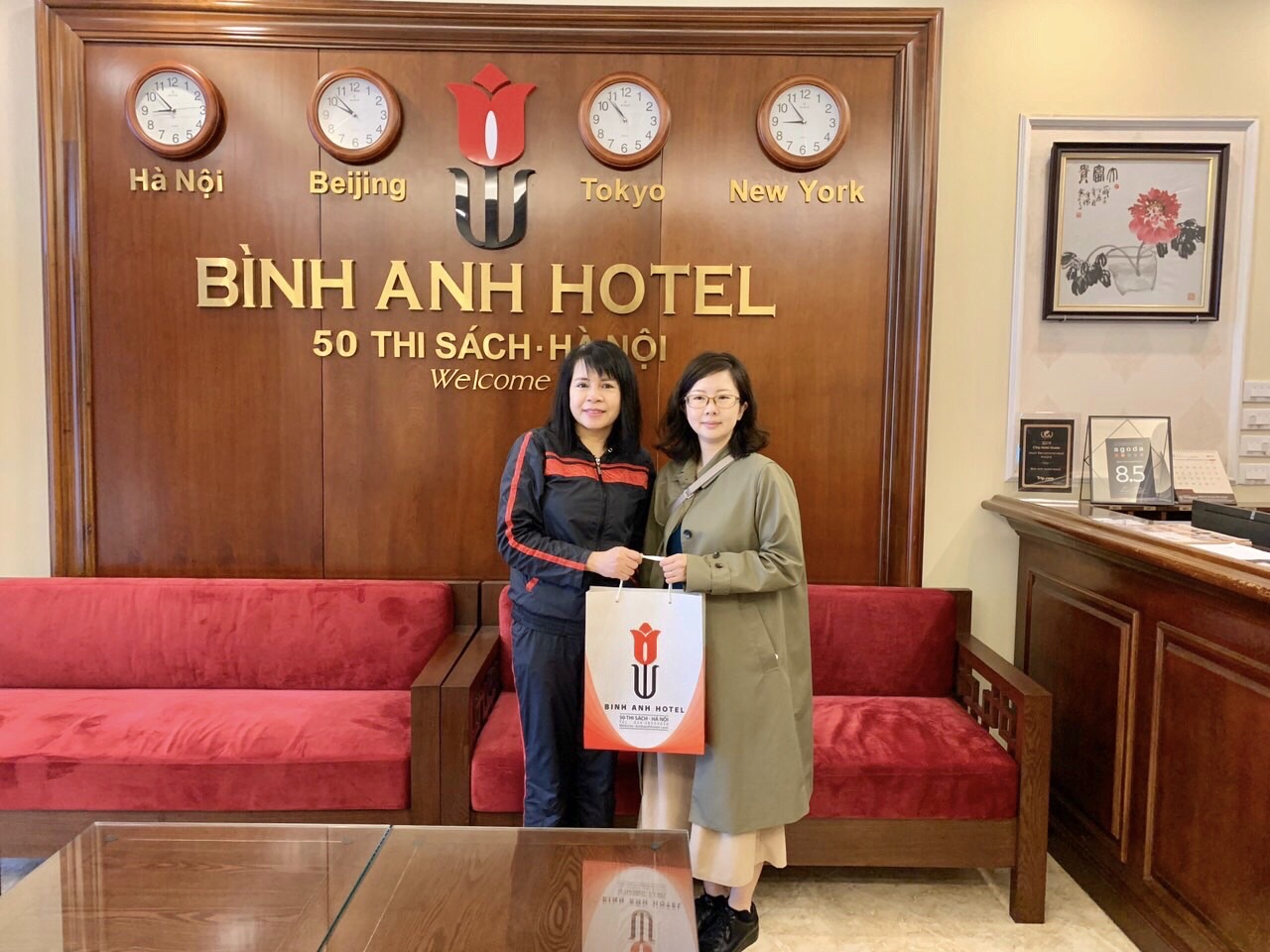 <p>So happy when I come to Binh Anh Hotel because of clean room and quiet atmosphere, which I always love</p>  <p></p>